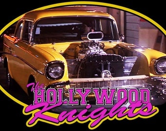 Hollywood Knights 1957 Chevy Vintage Image T-shirt