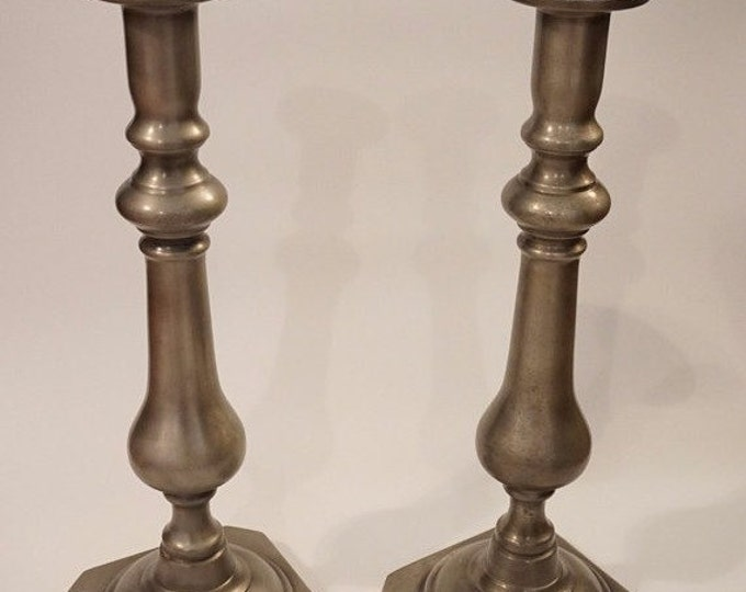 Large Harvin Candlesticks