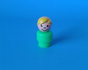"Fisher Price Little People "" #2524 Cruise Boat Blond Boy HTF "" 1970's"