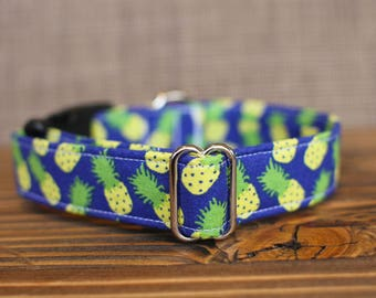 Pineapple Collar | Dog Collar | Male Dog Collar | Female Dog Collar | Novelty Dog Collar | Pet Collar | Large Dog Collar | Small Dog Collar