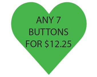 Button Set, Custom, Choose Your Own, Feminism, Feminist Gift, Gift for Feminist, Cats, Gift for Cat Lover, Womens Rights, LGBT Gift for LGBT