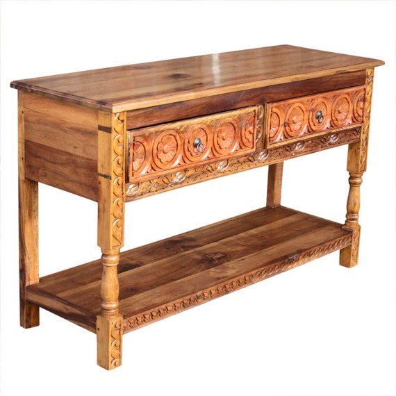 spanish console magnificent carved dresserbase carved console spanish