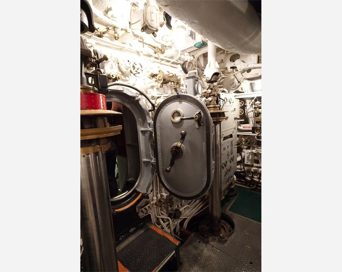 USS COBIA SUBMARINE | modern fine art photography blank note cards custom books interior wall decor affordable pictures –Rick Graves
