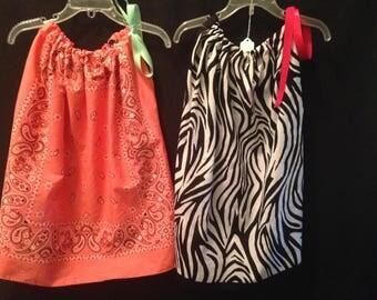 SALE  Bandana Dresses    Bandana Shirt    Bandana Tops     Toddler dresses   Memorial Day   Labor Day   Patriotic   Flag   Custom Embroidery