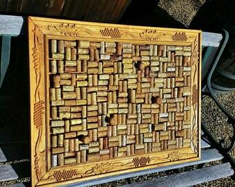 Custom cork board