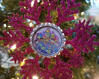 It's a small world Inspired Ornament