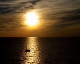 Sailboat under the Sunset © MaryDPhotography