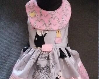 Valentine Dog Dress, Zombie Dog Outfit, Dog dress