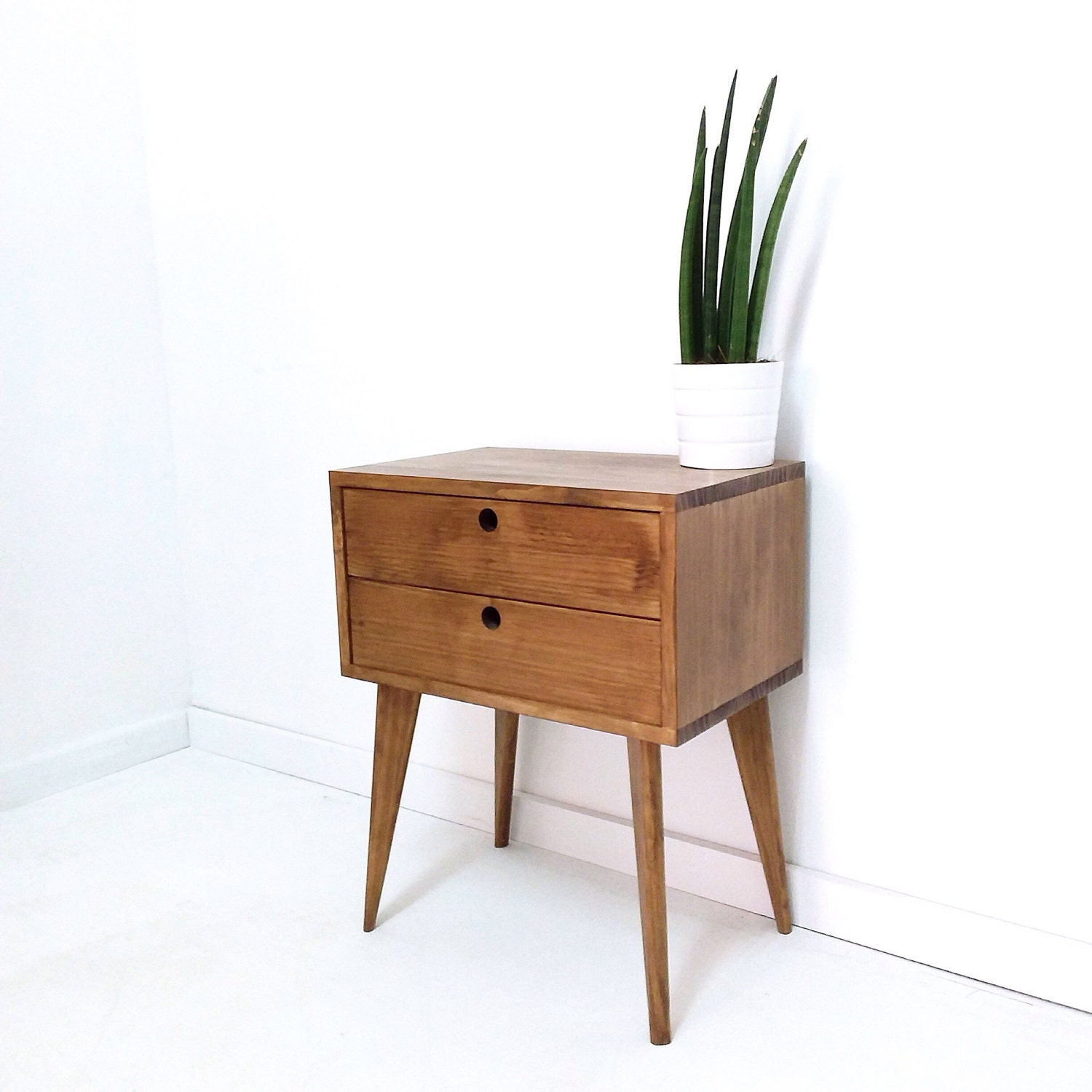 bedside table with 2 drawers bedside drawers side table