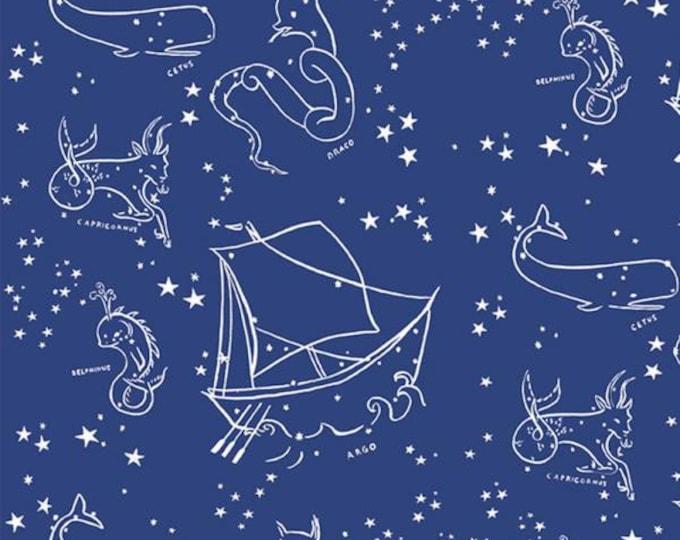 Birch Fabrics - Saltwater - Stars of the Sea - Organic Cotton Woven Fabric - FINAL CLEARANCE