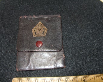 Knights of Pythias Commemorative Coin Purse