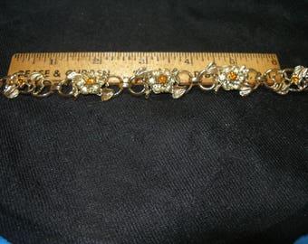CORO Rhinestone Bracelet(692)