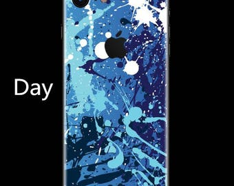Luminous iPhone Decal Night Glow Decal iPhone Sticker Night-shining Decal iPhone sticker iPhone Cover Apple Decal