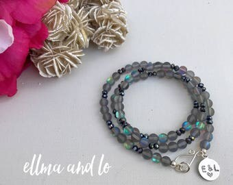 Mermaid Wrap Bracelet | Mystic Aura Quartz | Boho Jewelry | Gifts for her | Christmas gift