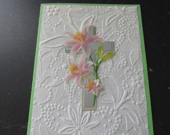 """Beautiful Easter Card, """"Wishing you a Happy Easter"""""""