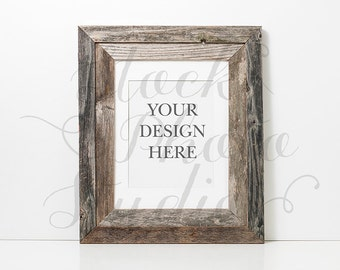 Rustic Frame Mockup, Stock Photography Frame, Styled Stock Photo, Product Mockup, Digital Art Mockup