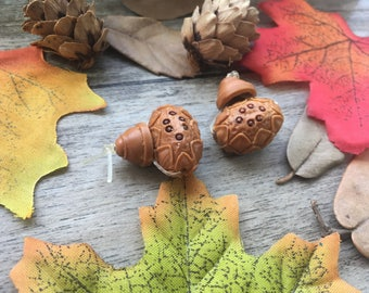 2pcs Natural Wooden Guru Beads Carved Lotus DIY Stone Charms Loose  Beads Supplier For Handcrafts Buddha Necklace Mala Jewelry Findings