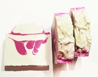 Pink Lady Soap, Gardenia Soap, Cold Process Soap, Tuberose Soap, Peony Soap, Soft Woods Soap, Homemade Soap, Handmade Soap, Women's Soap