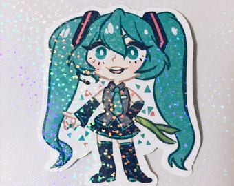 "Hatsune Miku Sticker - 3"""
