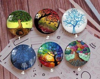 Handmade Round Photo glass Cabochons,8mm -58mm size Cute Animal Style Butterfly More-ZY876