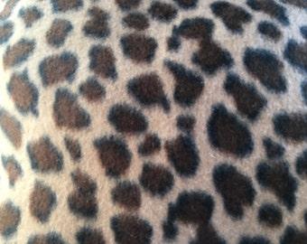 Yukon Brown Cheetah Fabric