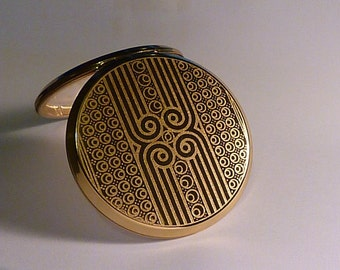 Retro gifts vintage Stratton powder compact bridesmaids gifts for girlfriends / wives / sisters compact mirrors