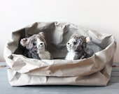 Cat bed | made from washable paper | Cat Box | Cat Cave | Pet Box | Pet bed | Pet Pot | Cat House | Minimalist | Interior design