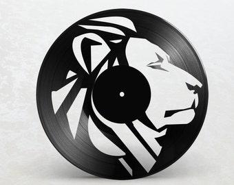 Vinyl frame 33T / / / / Lion Rasta Reggae