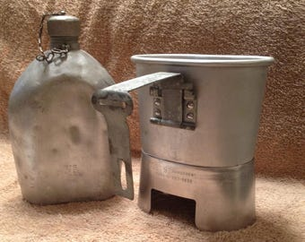 US Military Issue Canteen Cup Heater Stand