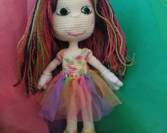 Multicolor doll