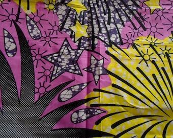 Vlisco Wax Print, Cotton fabric
