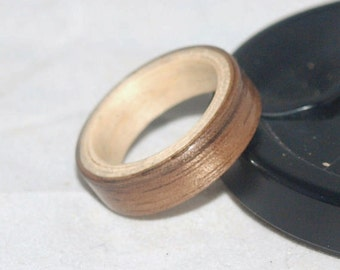 Wooden Rings - Bentwood Walnut and Ash Rings - Mens Wood Rings, Womens Wood Rings, Wood Engagement Rings, Wood Wedding Bands