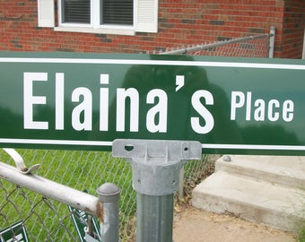 Personalized Street Sign, Made to order street sign, For Karen