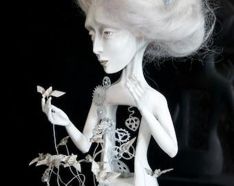 """Art Doll """"...Somewhere where Sadness lives."""""""