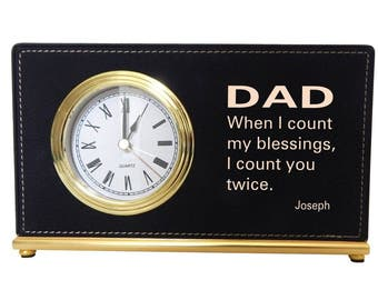 Dad Gift from his Son, Gift to my dear Father, Dad Appreciation Gift, Thank You Dad Custom Keepsake Gift, Fathers Day Gift, LCD073