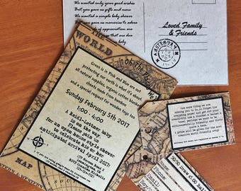 Custom invitations, party ideas, baby showers, bridal showers