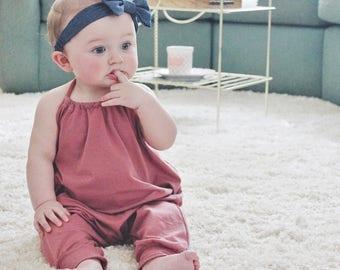 Romper, Baby Girl Romper, Baby Romper, Jumpsuit, Toddler Girl Clothes, Baby Girl, Summer, Summer Romper, Backless, Ari Romper