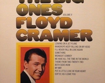 "Floyd Cramer - ""The Big Ones Vol. II"" vinyl"