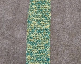 Green and Yellow Scarf