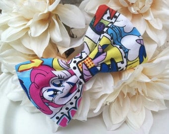 My Little pony barrette bow