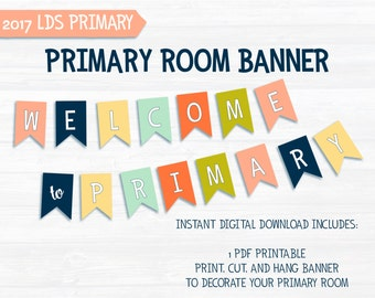 Welcome to Primary Banner