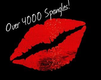 Lips in  SPANGLES