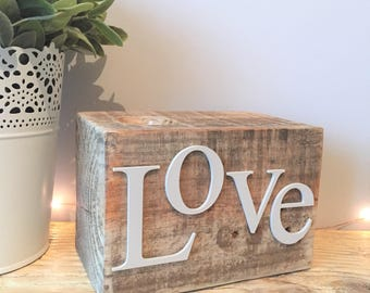 Love Candle Block