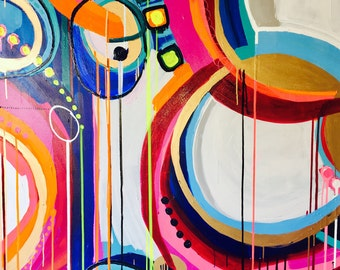"""Sold 48x60 """"ColorFactor I"""""""