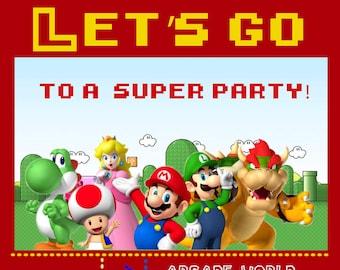 Super Mario Invite