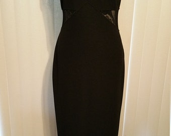 All That Jazz Black Maxi with Peek-a-Boo Waist