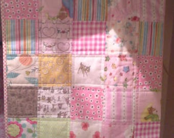 Handmade Patchwork Quilt Baby/Toddler size