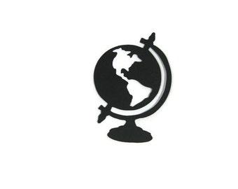 Paper Globe Die Cut Set of 12