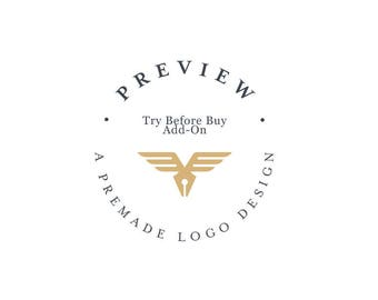 Try Before Buy - Preview A Premade Logo Design.