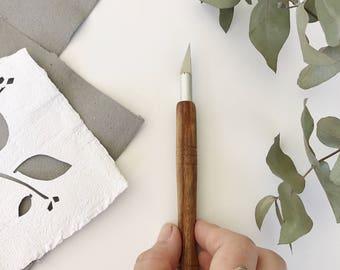handmade, craft knife, replaceable blade knife, paper cutting, knife, craft blade, replaceable